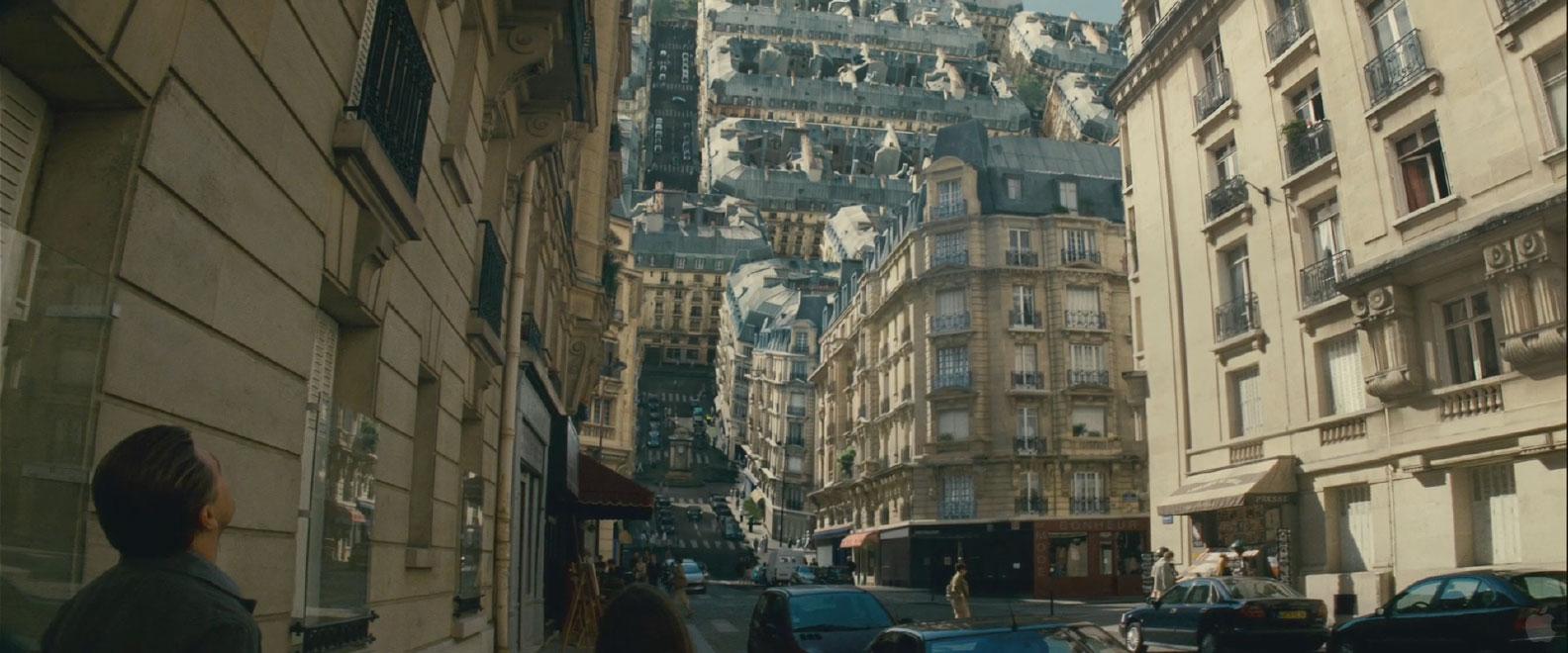 "Kadr z filmu ""Incepcja"""