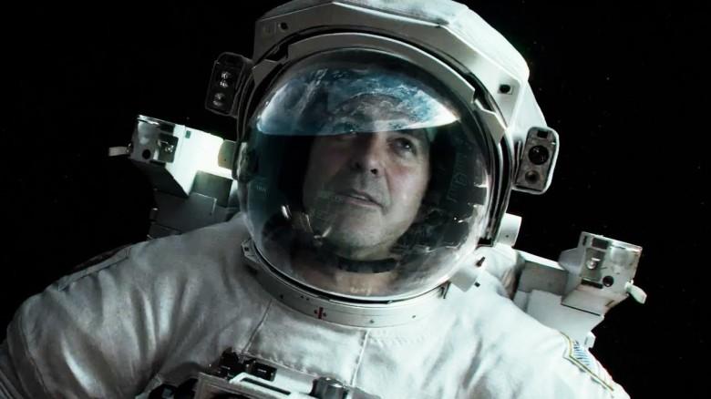 Kadr z filmu Grawitacja