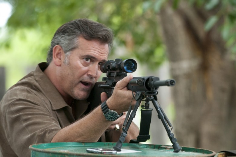 Sam Axe with Sniper Rifle