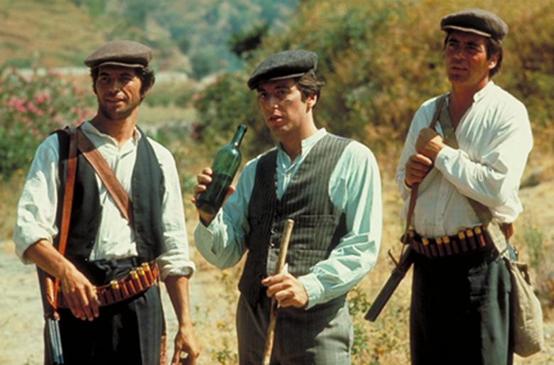 Michael Corleone (Al Pacino) na Sycylii