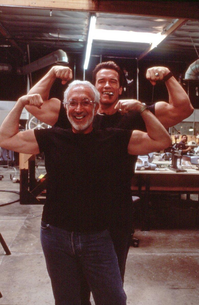Arnold i Stan Winston