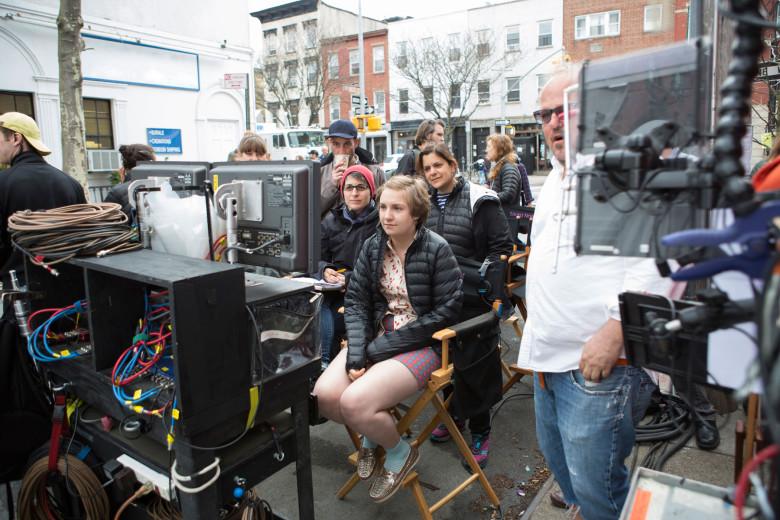 Lena Dunham - reżyserka, scenarzystka, producentka i odtwórczyni głównej roli.