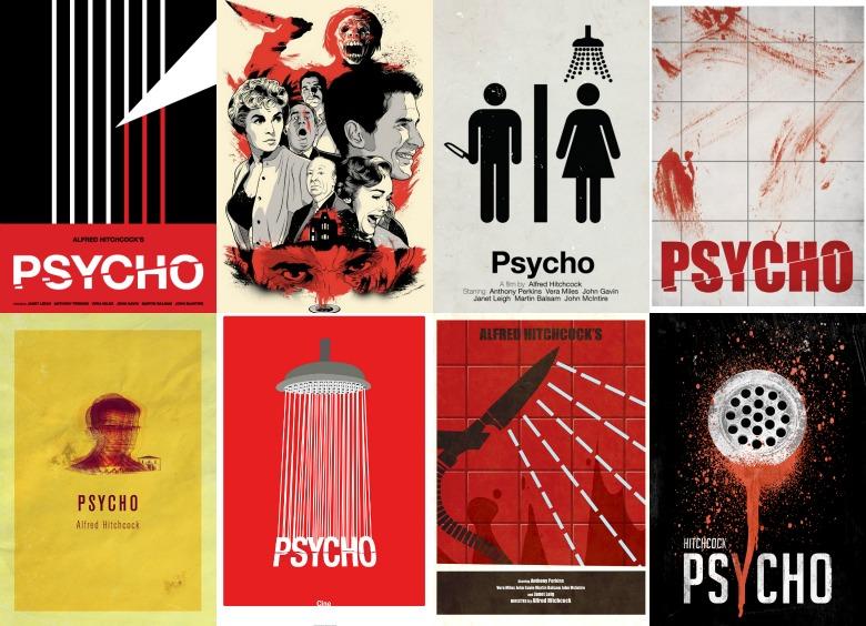 """Fanowskie plakaty do """"Psychozy """