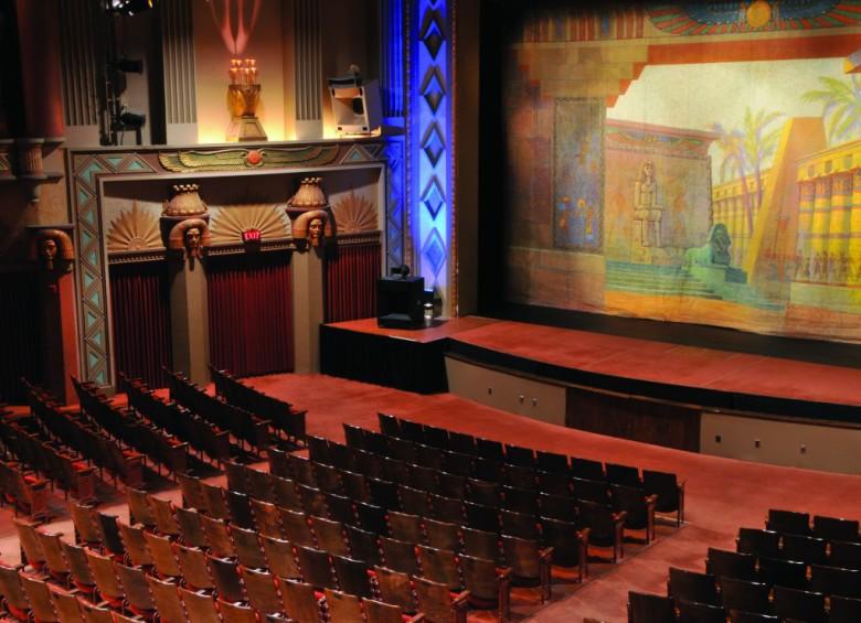 The Egyptian Theatre, DeKalb, Illinois