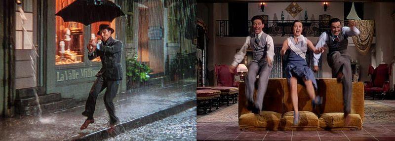Deszczowe i kanapowe tańce