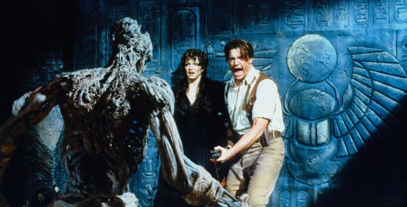 "Kadr z filmu ""Mumia"" 1999 r. reż. Stephen Sommers"