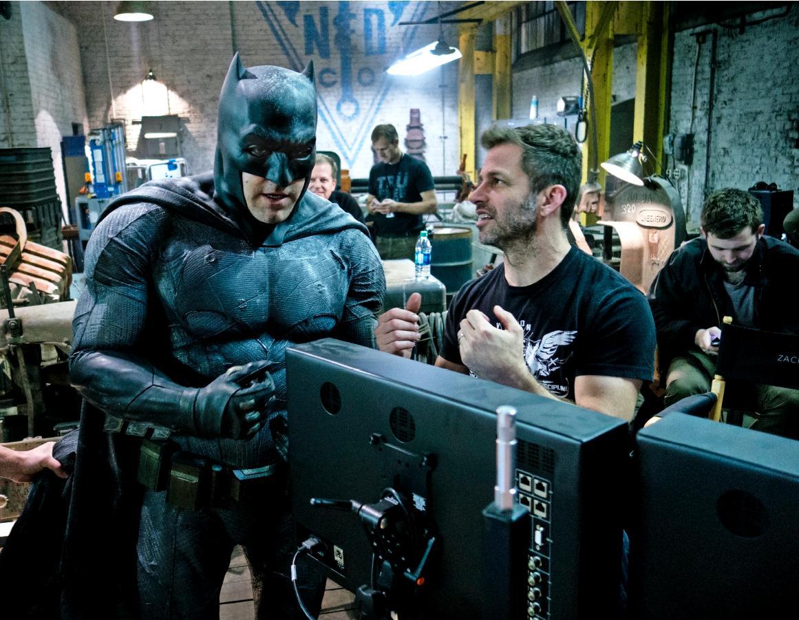 Zack Snyder i Ben Affleck