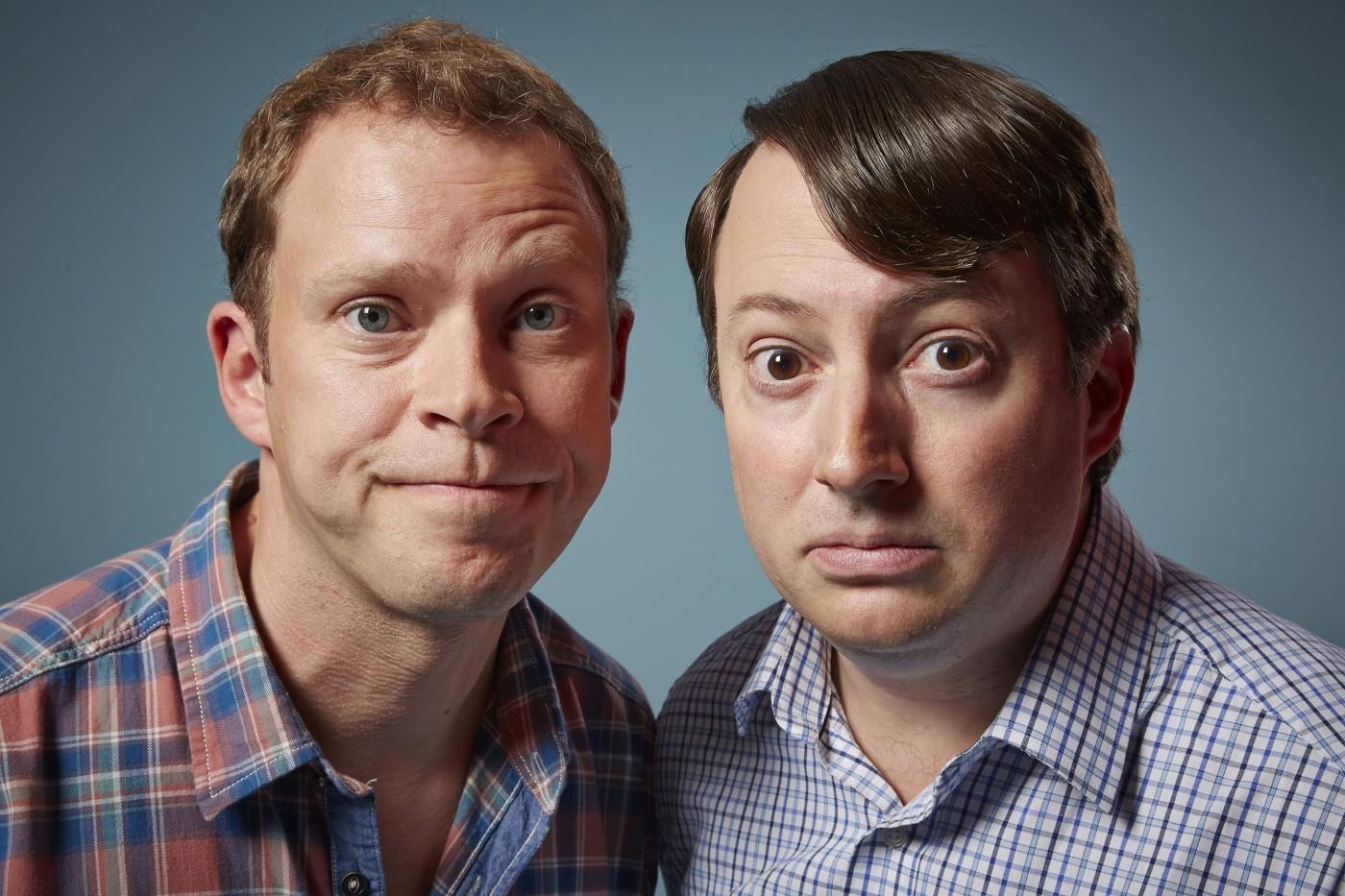 Peep Show Series 9 - (Robert Webb as Jeremy and David Mitchell as Mark)