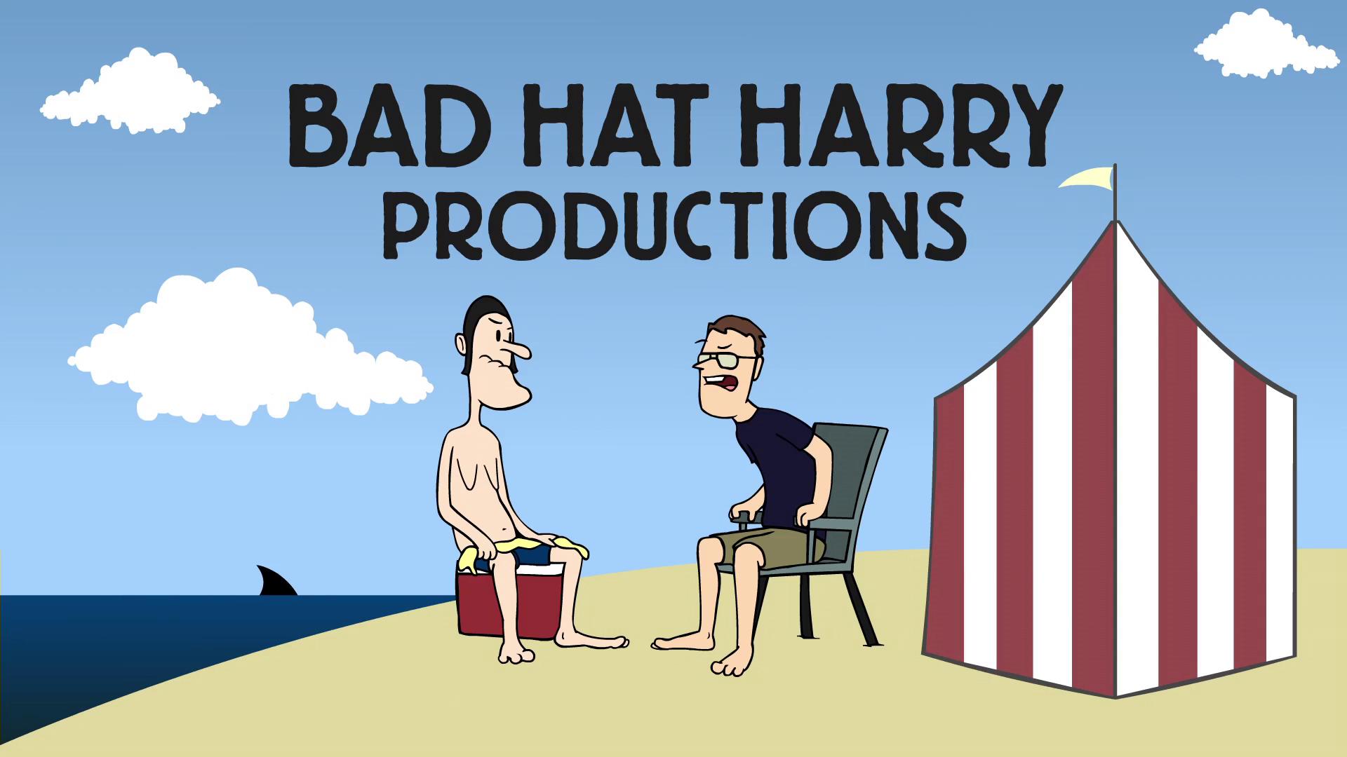 Logo Bad Hat Harry Productions, wytwórni filmowej Bryana Singera
