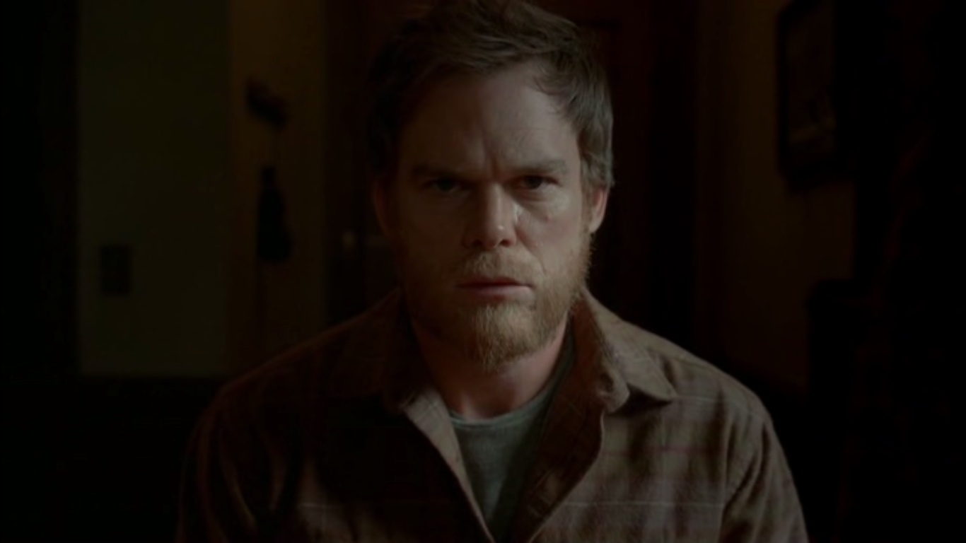 "Michael C. Hallo jako Dexter Morgan, ""Dexter"", 8x12, ""Remember the Monsters"""