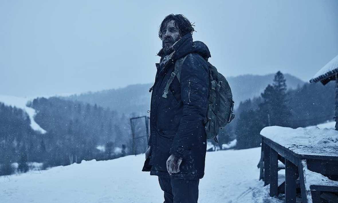 """""""Na granicy"""", reż. Wojciech Kasperski - debiut. Rasowy dreszczowiec skąpany w bieszczadzkim śniegu przeszedł przez nasze kina bez większego echa mimo dobrych recenzji."""