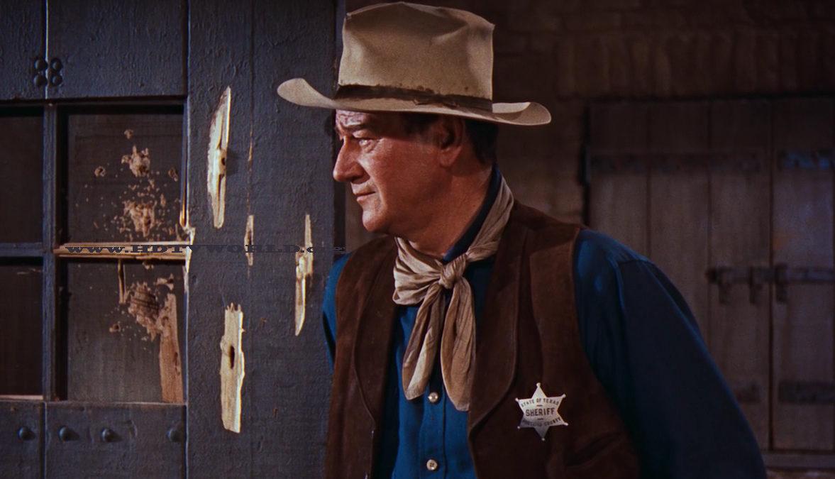 Rio Bravo kadr z filmu