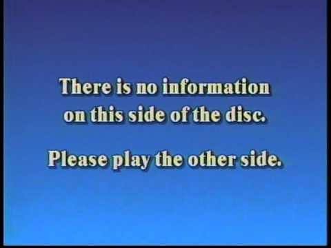 """Typowy przykład Laserdiscowej """"dead side"""""""