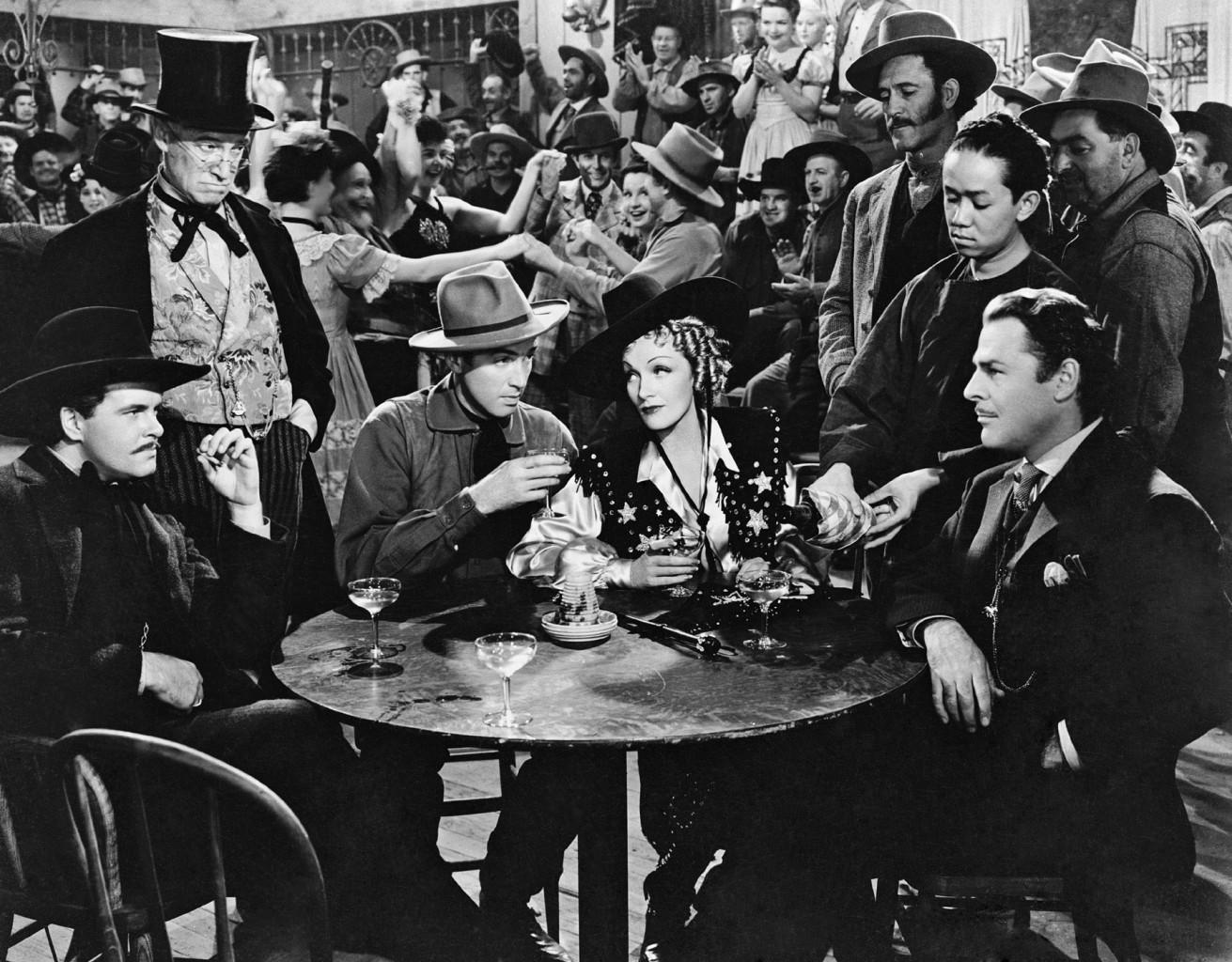 James Stewart - destry rides again - & Marlene Dietrich, Brian Donlevy