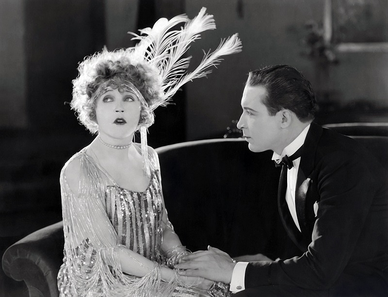 Vintage 1922 Mae Murray in Broadway Rose