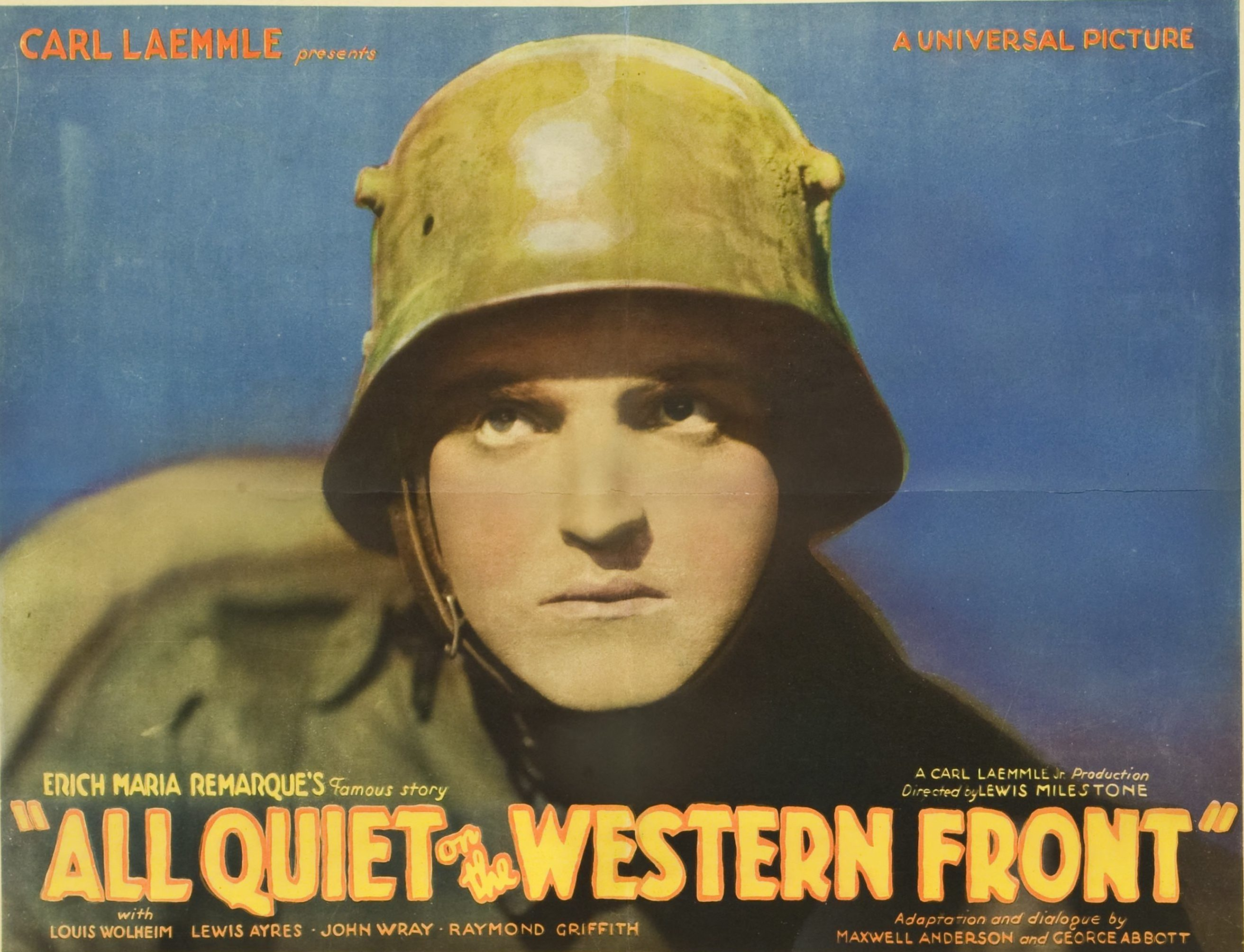 character analysis of paul baumer in all quiet on the western front Paul would walk through fire for kat, and, perhaps, the greatest tragedy of the novel arrives when he does just that: when kat is wounded one summer day, paul binds his wound and then carries him though the storm of gunfire to the nearest makeshift hospital.