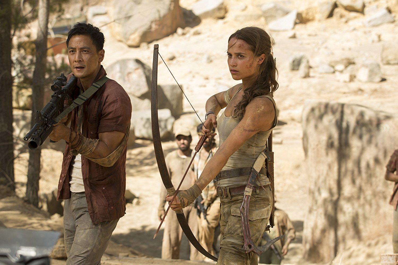 Daniel Wu i Alicia Vikander