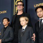 Brad Pitt z dziećmi