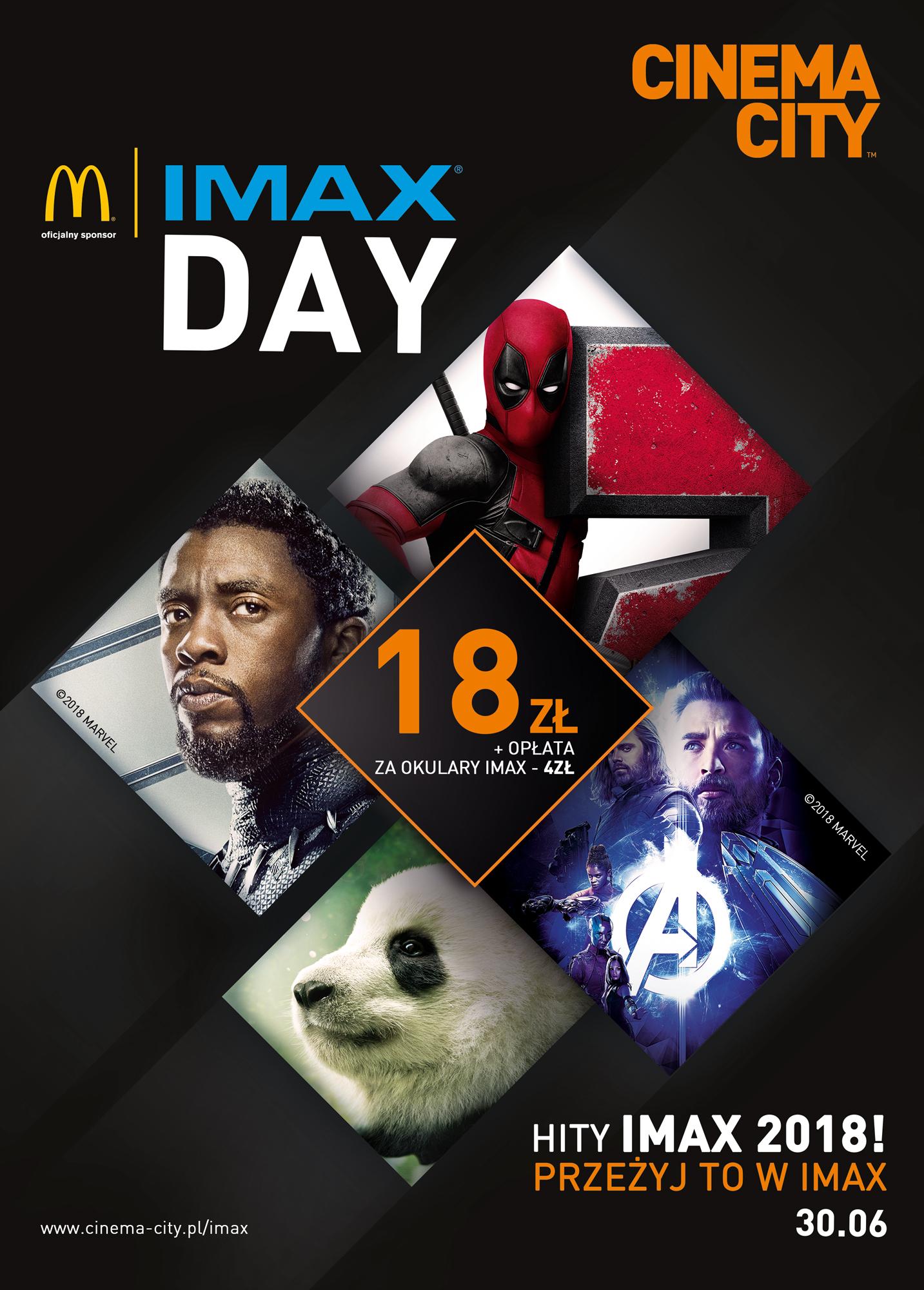 IMAX Day - plakat