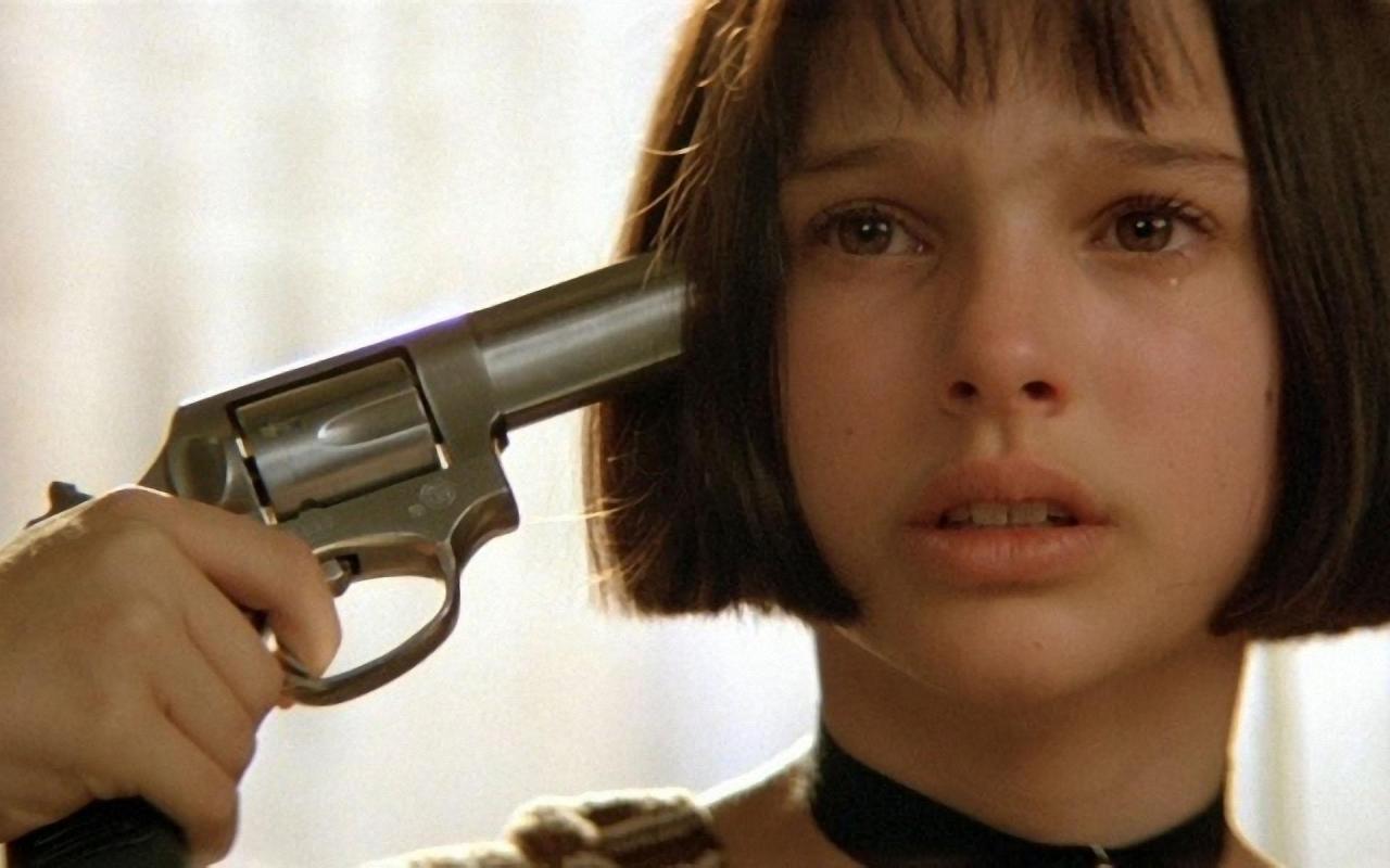 """Natalie Portman w filmie """"Leon zawodowiec"""""""