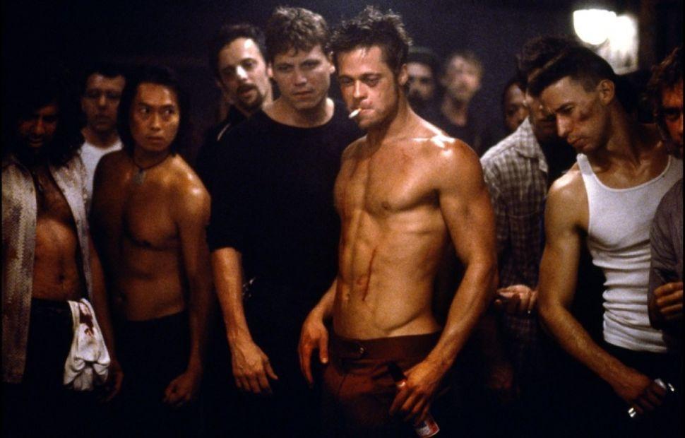 """Brad Pitt, kadr z filmu """"Podziemny krąg"""""""