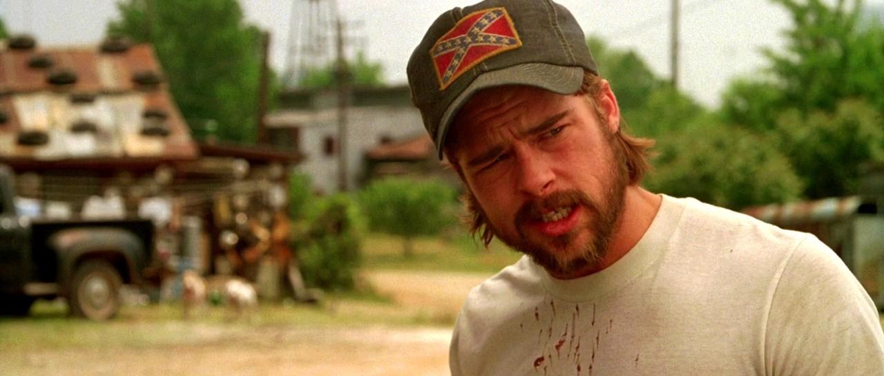 "Brad Pitt, kadr z filmu ""Kalifornia"""