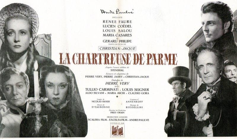 Pustelnia parmeńska (La Chartreuse de Parme, 1948)