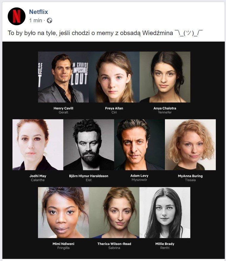 Wiedźmin Netflix