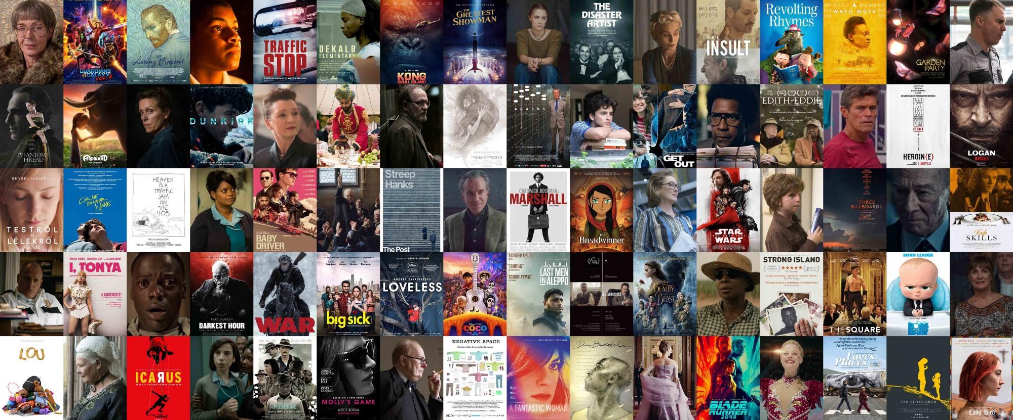 Oscary plakaty 2018