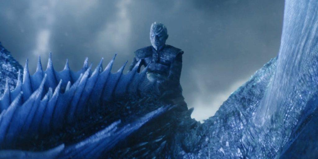 game of thrones sezon 7 season 7 viserion ice dragon