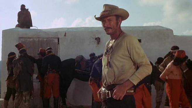 "Lee Van Cleef w filmie ""El Condor"" (1970)"